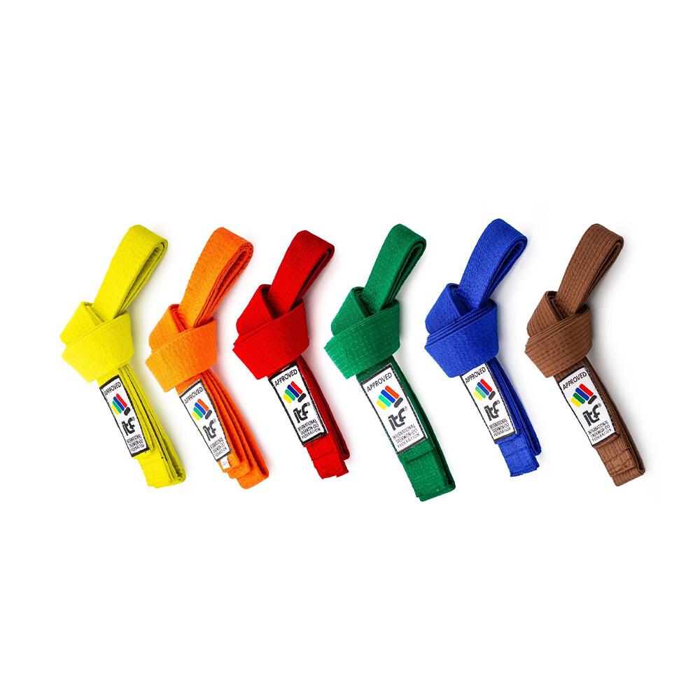 Trakovi (rumen, oranžen, rdeč, zelen, moder, rjav)