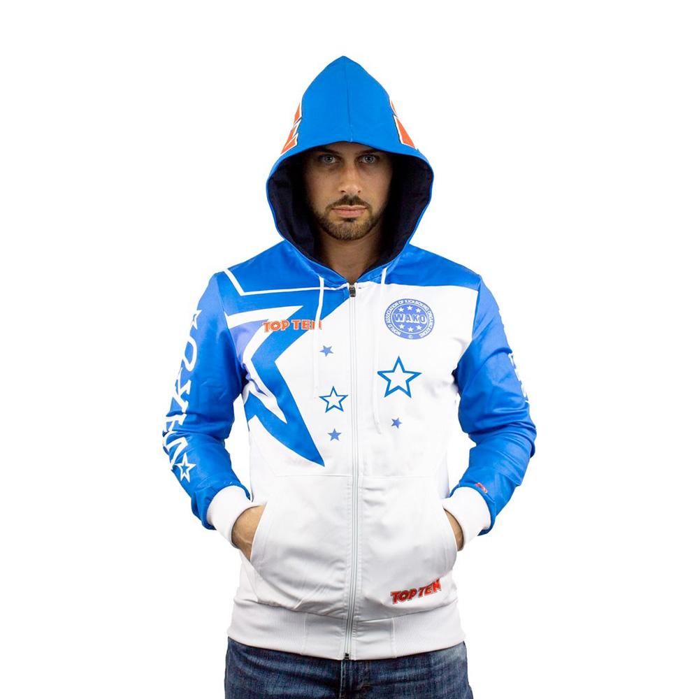 Modro bel hoodie
