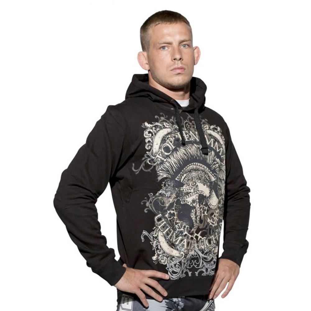 Črni Ultimate fight hoodie