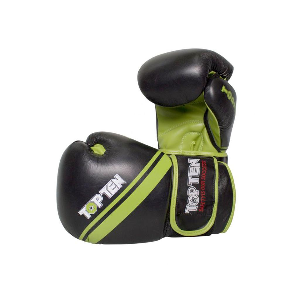 Črno zelene rokavice