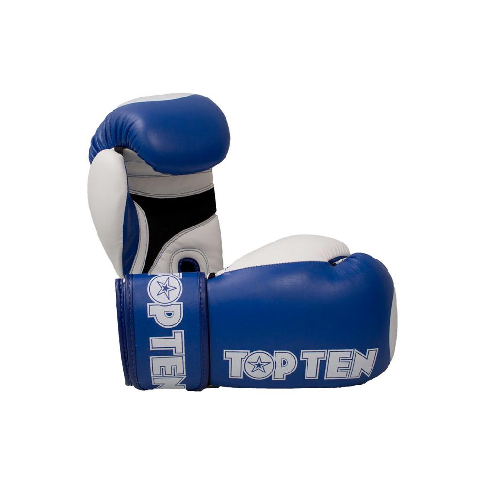 Modro bele rokavice