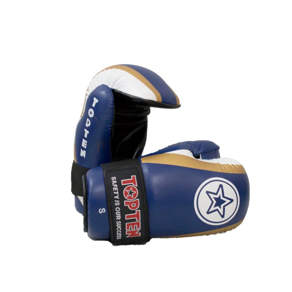 Modro zlate rokavice