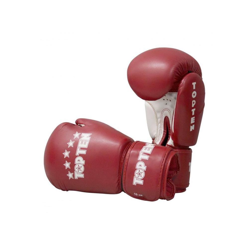 Temno rdeče rokavice