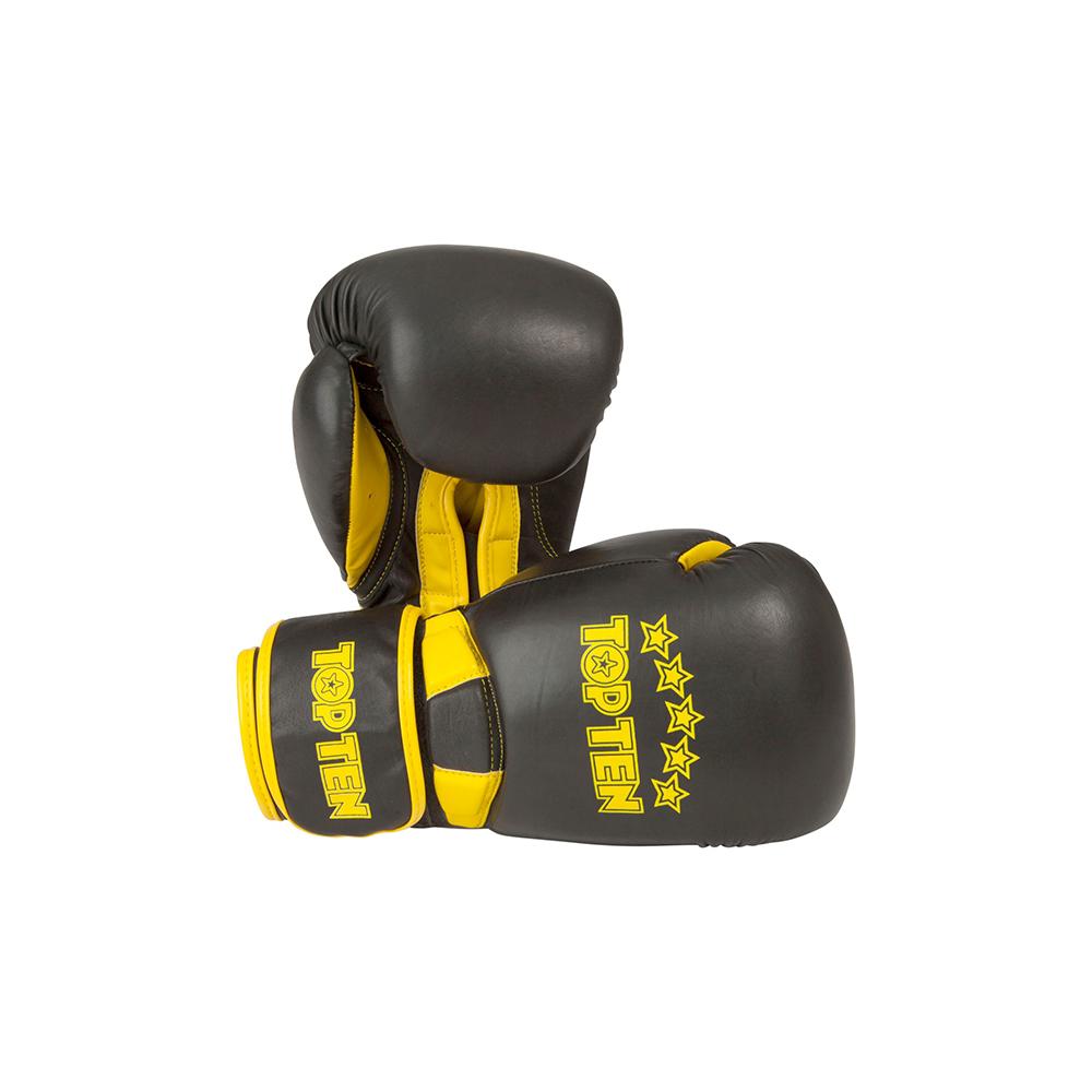 Črno rumene rokavice