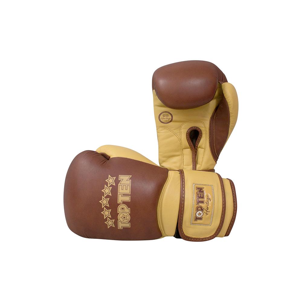 Rjavo rumene rokavice